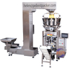 Frites frites manioc banane chips Snack Pouch Machine d'emballage Machine de conditionnement automatique de flocons chips